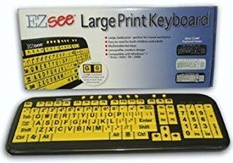 ACP Ezsee Low Vision Keyboard