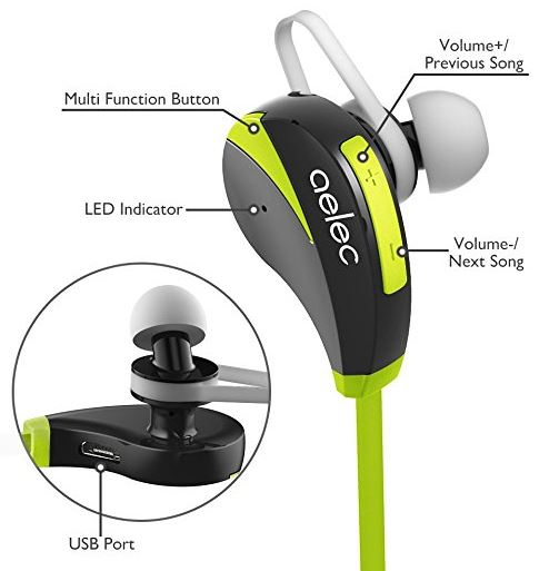 9ee6385a077 Aelec S350 Bluetooth Headset (Earbuds) Review - Nerd Techy