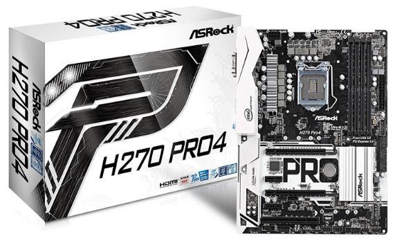 ASRock H270 Pro 4