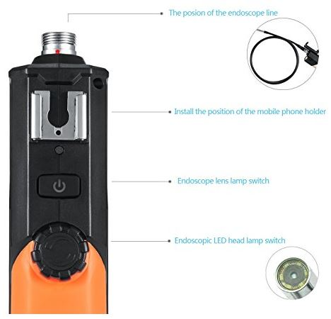 Potensic WiFi Endoscope