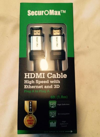 SecurOMax HDMI Cable