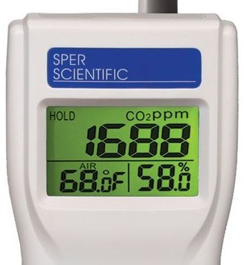 Sper Scientific 800046 Indoor Air Quality Meter