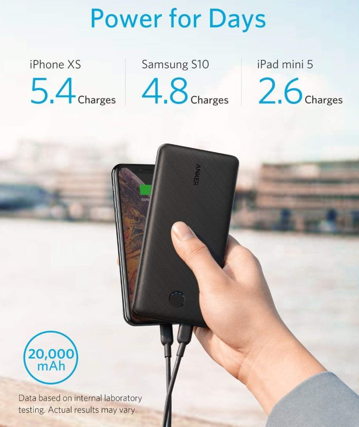 Anker PowerCore Essential 20000 PD 18W Power Bank