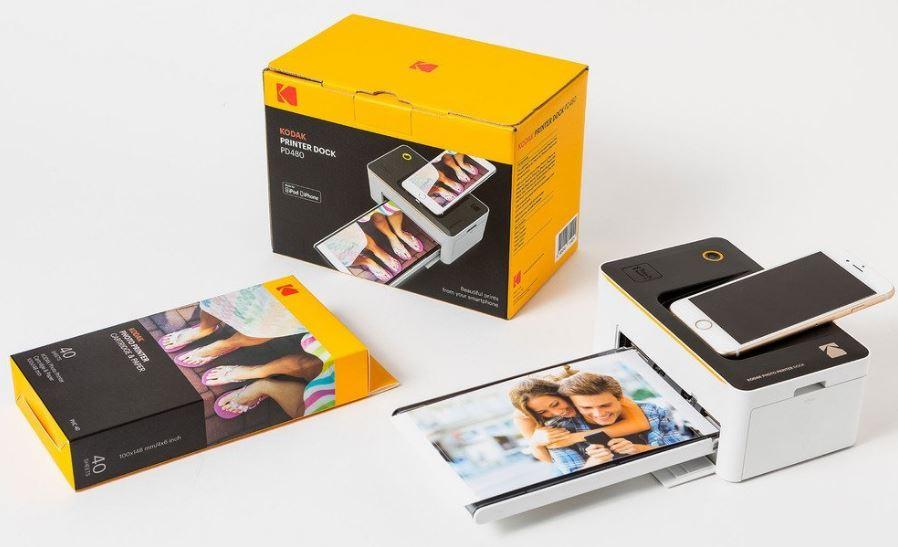 Kodak Dock and Wi-Fi Photo Printer