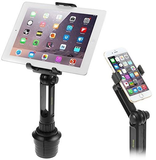 iKross 2-in-1 Cup Mount Holder