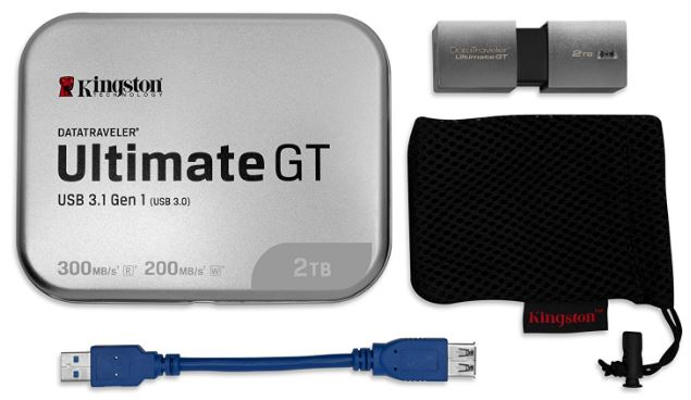 Kingston Digital DataTraveler Ultimate GT