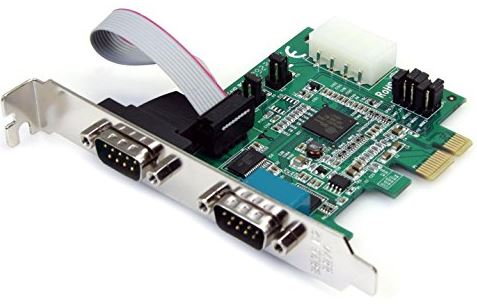 StarTech PCIe RS232 Serial Adapter Card