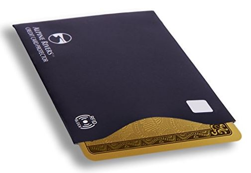 Alpine Rivers Premium RFID Blocking Sleeves
