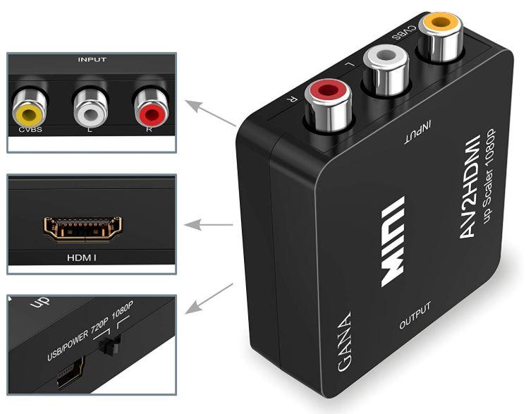 GANA Mini Audio Video Converter