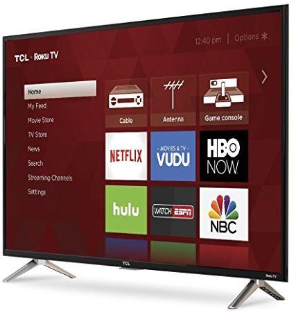 TCL S-Series Roku Smart LED TV 2017