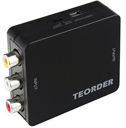 Teorder Mini Audio Video Converter