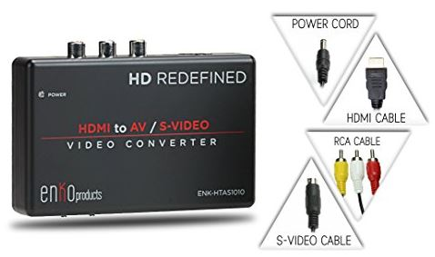 enKo Mini HDMI to AV RCA