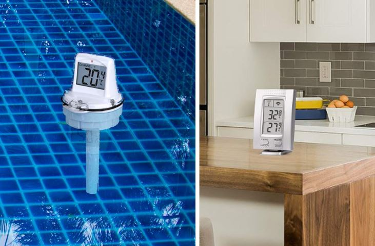 CALI-HOME Wireless Floating Thermometer