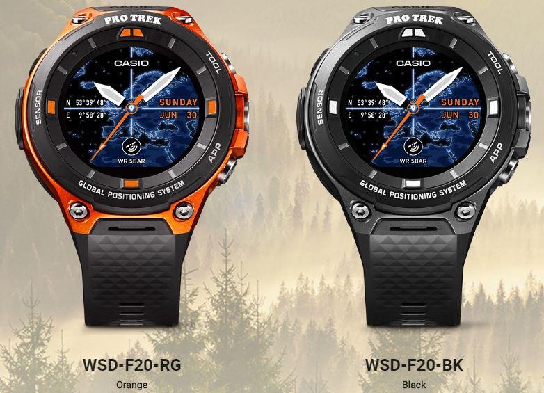 Casio WSD-F20 Pro Trek