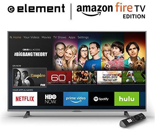 Element Electronics 4K Smart LED TV Amazon Fire Edition