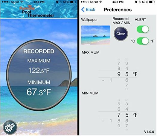 Ivation Bluetooth Water Thermometer