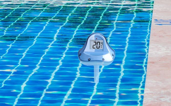Meashinee Wireless Swimming Pool Thermometer