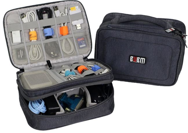 BUBM Electronics Travel Organizer