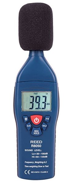 REED Instruments R8050 Sound Level Meter