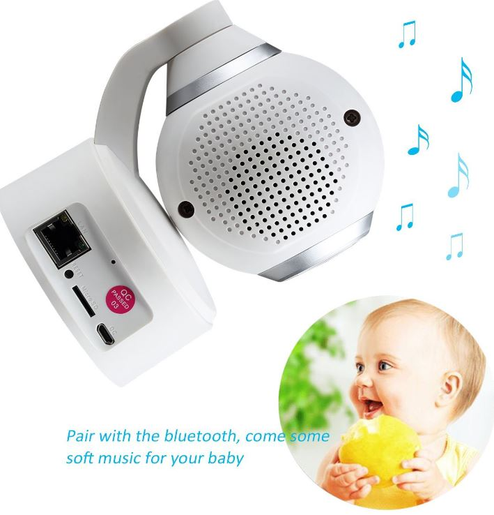 NexGadget Bluetooth Baby Monitor