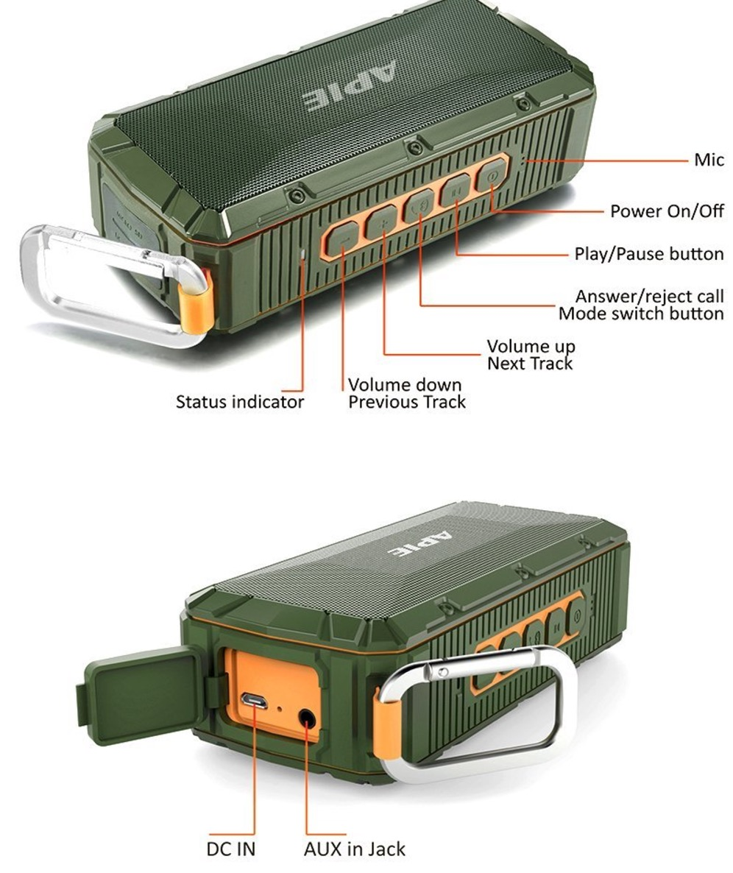 Apie Bluetooth Speaker