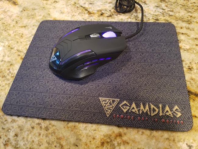 Gamdias E1 Gaming Combo