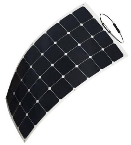HQST 100 Watt 12V Monocrystalline Solar Panel