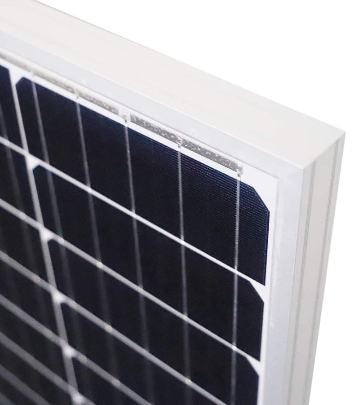Newpowa 100 Watt Monocrystalline 12v Solar Panel