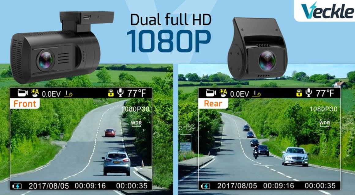 Veckle Dual Dash Cam