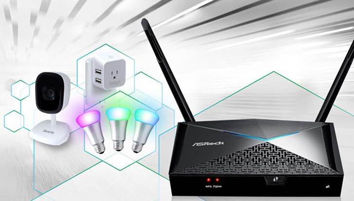 ASRock X10 AC1300 2-in-1 IoT Wireless Router