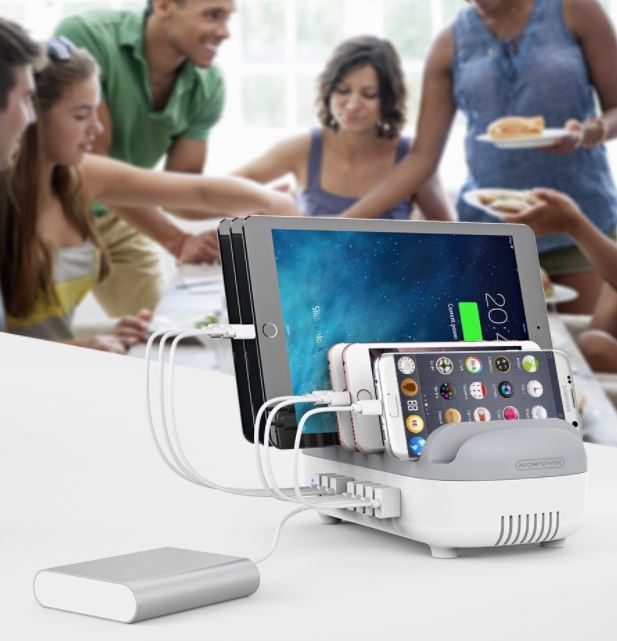 NTONPOWER Charging Station Dock and Organizer