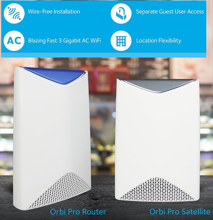 Orbi Pro by Netgear Review – AC3000 Tri-Band WiFi System
