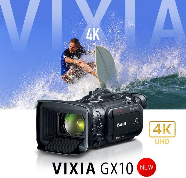 Resultado de imagen para VIDEOCÁMARA VIXIA GX10 optica