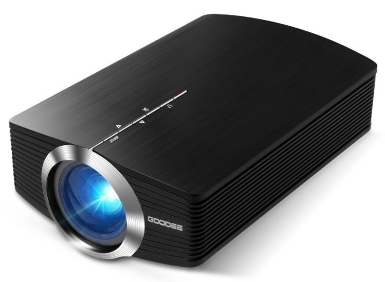 GooDee YG500 Mini Portable Projector