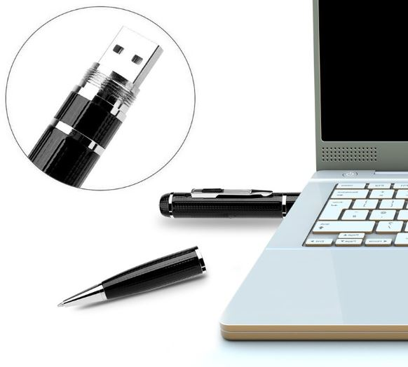 Letown 1296P Spy Camera Pen