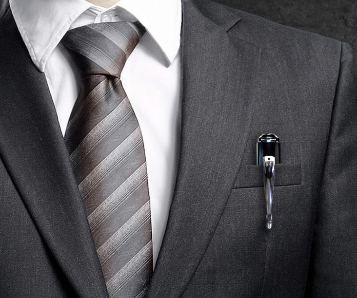 spy pen in pocket