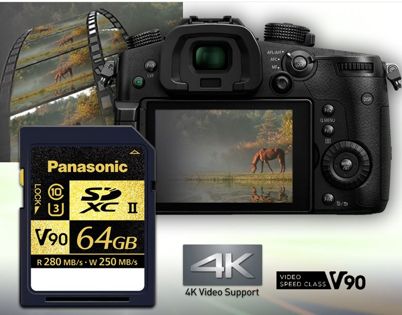 Panasonic SDZA Series SD Card