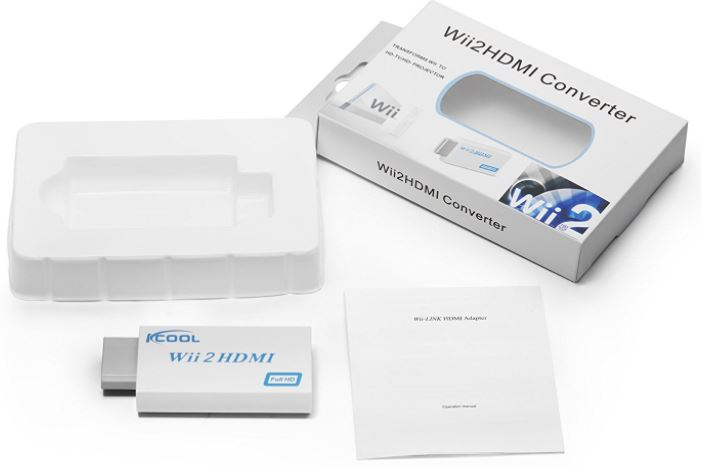 KCOOL Wii to HDMI Converter