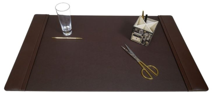 Dacasso Chocolate Brown Leather Desk Pad