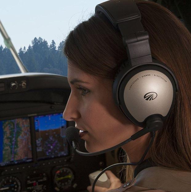 Lightspeed SIERRA ANR Aviation Headset