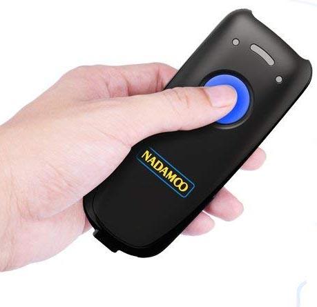 NADAMOO Mini Wireless Barcode Scanner