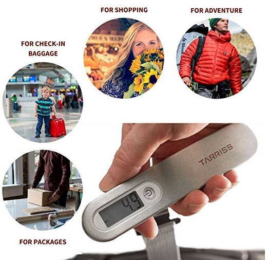 Tarriss Jetsetter Digital Luggage Scale