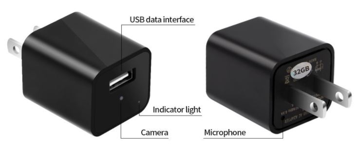 VOOPII USB Spy Charger