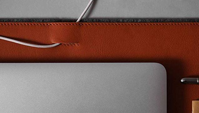 Harber London Leather and Felt Desk Mat