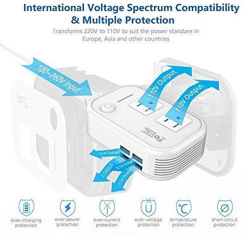 Foval Voltage Converter