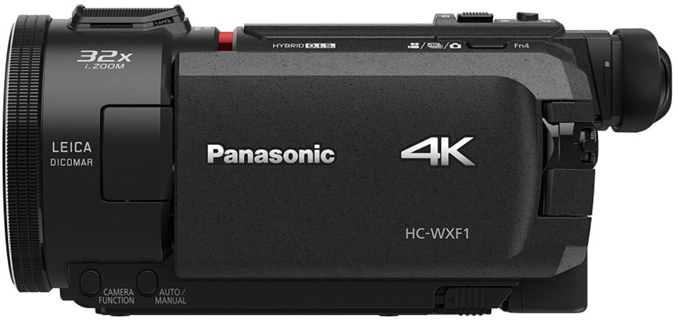 First-Look Review of the Panasonic HC-WXF1 4K UHD Camcorder