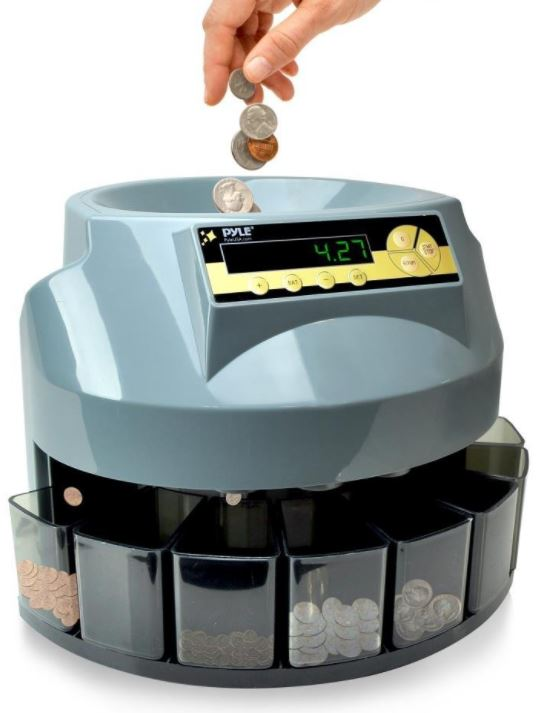 Pyle Automatic Coin Sorter
