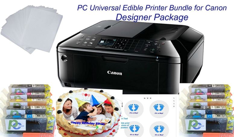 PC Universal Edible Printer Bundle