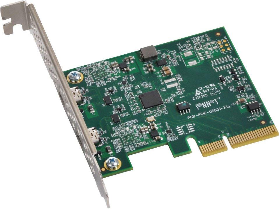 Sonnet Allegro USB 31 PCIe Card