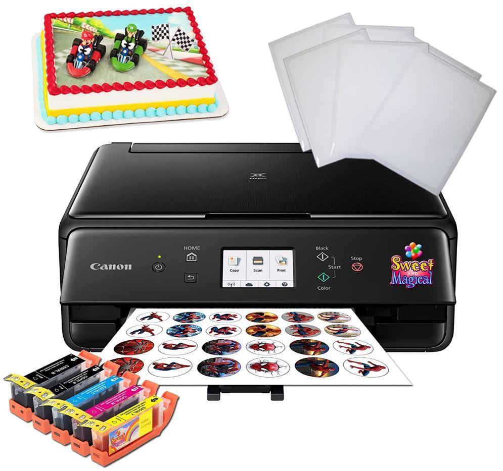 Sweet Magical Edible Birthday Cake Printer Bundle